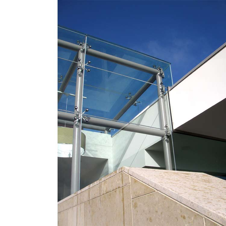 Adt Facade Solutions Frameless Glass Building Enclosure