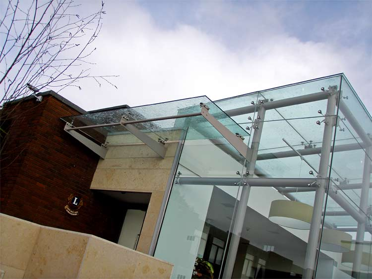 Frameless Glazing Details : Adt facade solutions frameless glass building enclosure