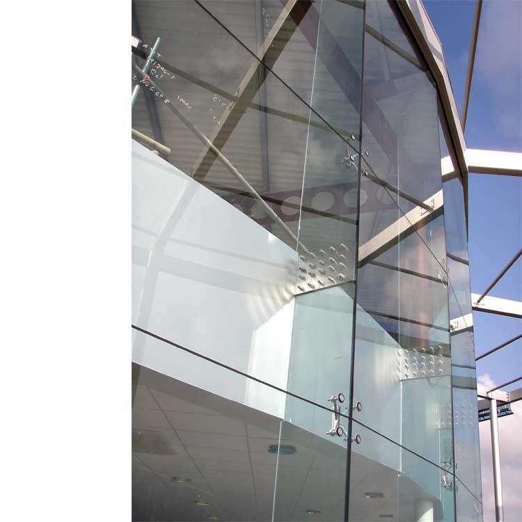 Adt Facade Solutions Frameless Glass Spider Walls