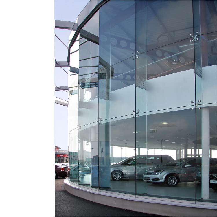 Spider Glass System Details : Adt facade solutions frameless glass spider walls
